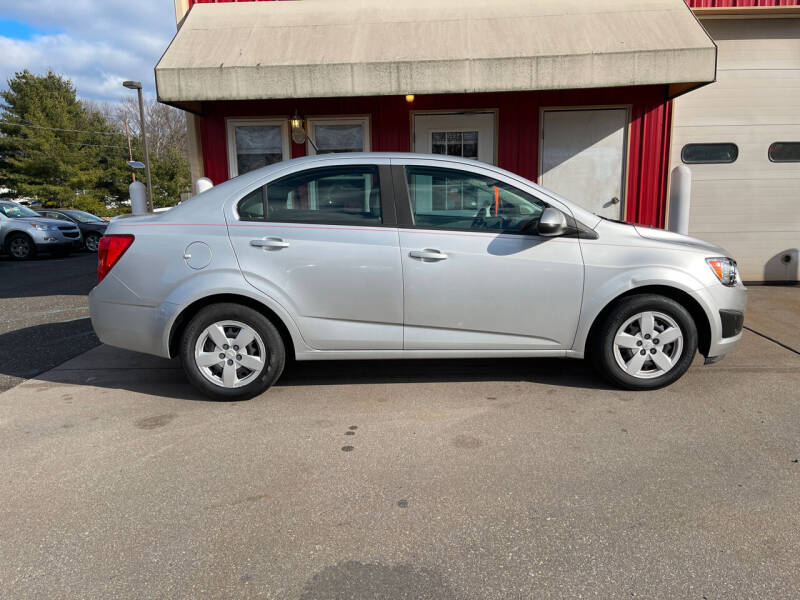 2013 Chevrolet Sonic for sale at JWP Auto Sales,LLC in Maple Shade NJ
