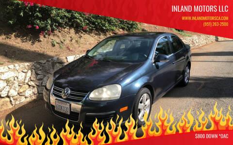 2009 Volkswagen Jetta for sale at Inland Motors LLC in Riverside CA