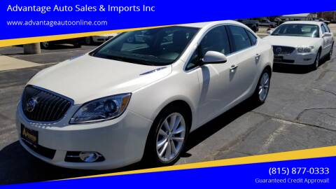 2014 Buick Verano for sale at Advantage Auto Sales & Imports Inc in Loves Park IL