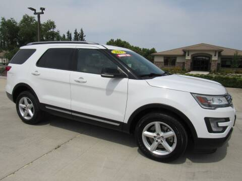 2017 Ford Explorer for sale at Repeat Auto Sales Inc. in Manteca CA