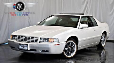 2001 Cadillac Eldorado for sale at ZONE MOTORS in Addison IL