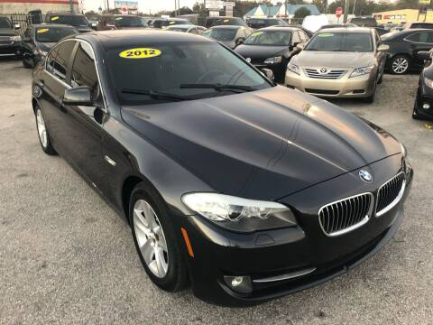 2012 BMW 5 Series for sale at Marvin Motors in Kissimmee FL
