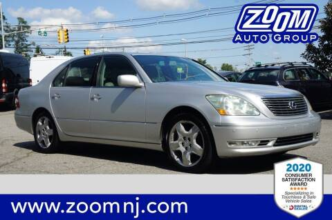 2006 Lexus LS 430 for sale at Zoom Auto Group in Parsippany NJ