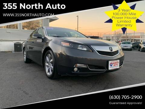 2012 Acura TL for sale at 355 North Auto in Lombard IL