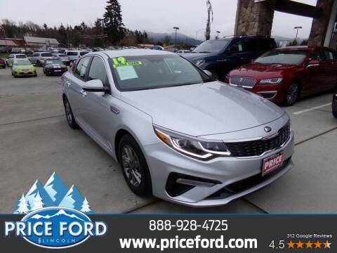 2019 Kia Optima for sale at Price Ford Lincoln in Port Angeles WA