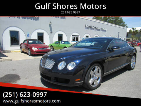 2005 Bentley Continental for sale at Gulf Shores Motors in Gulf Shores AL