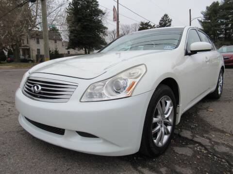 2008 Infiniti G35 for sale at PRESTIGE IMPORT AUTO SALES in Morrisville PA