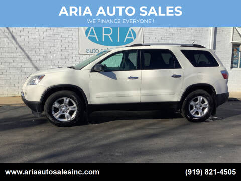 2011 GMC Acadia for sale at ARIA  AUTO  SALES in Raleigh NC