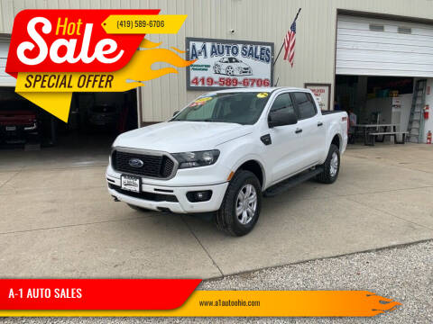 2019 Ford Ranger for sale at A-1 AUTO SALES in Mansfield OH