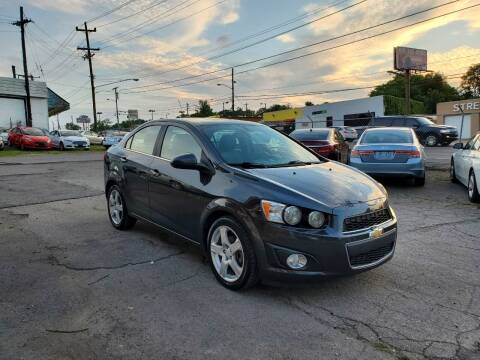 2015 Chevrolet Sonic for sale at Green Ride Inc in Nashville TN