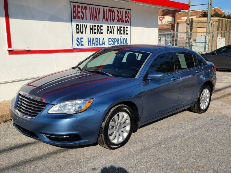 2011 Chrysler 200 for sale at Best Way Auto Sales II in Houston TX