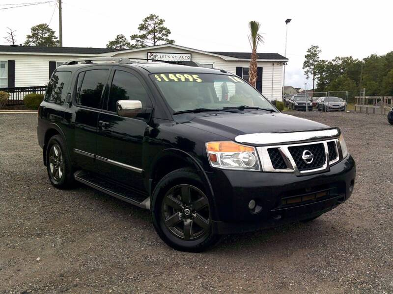 2014 Nissan Armada for sale at Let's Go Auto Of Columbia in West Columbia SC