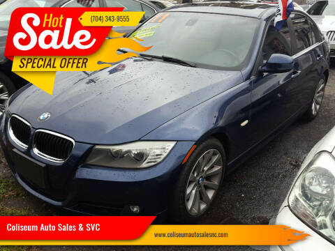 2011 BMW 3 Series for sale at Coliseum Auto Sales & SVC in Charlotte NC