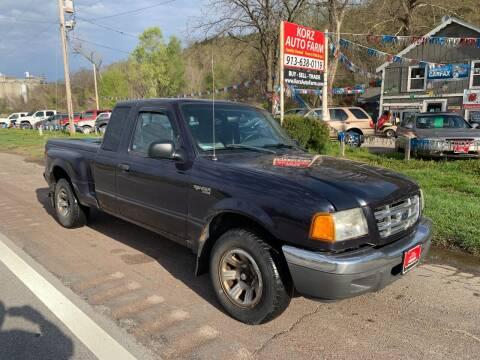 2001 Ford Ranger for sale at Korz Auto Farm in Kansas City KS