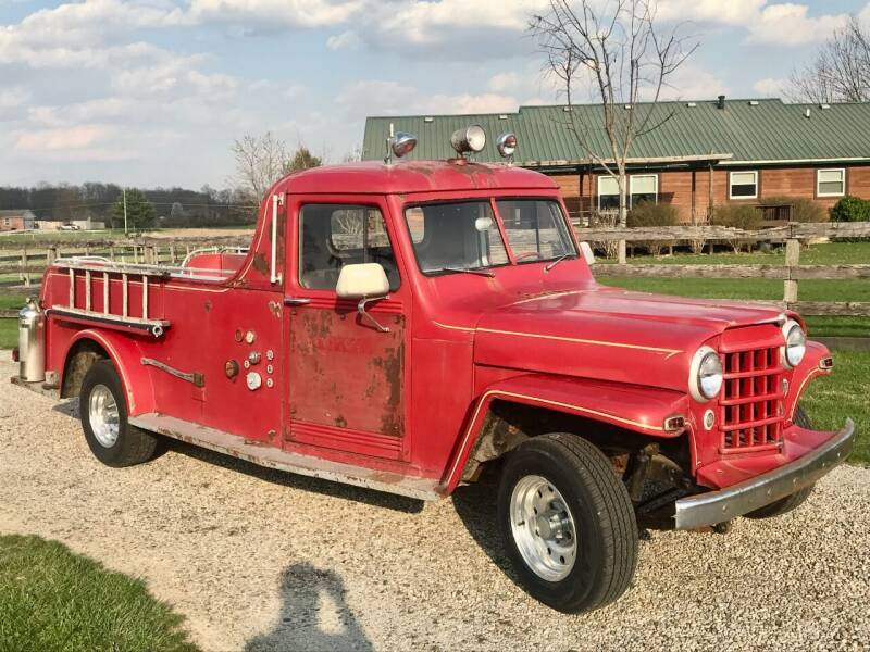 1951 Willys T-14 Truck for sale at 500 CLASSIC AUTO SALES in Knightstown IN
