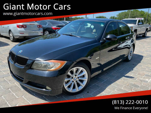 2006 BMW 3 Series for sale at Giant Motor Cars in Tampa FL