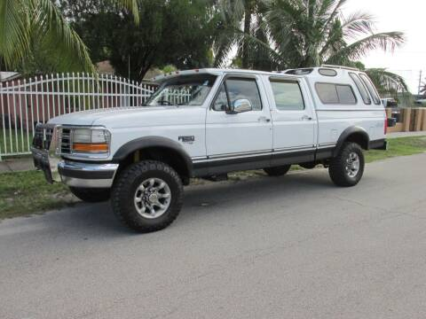 1997 Ford F-250 for sale at TROPICAL MOTOR CARS INC in Miami FL