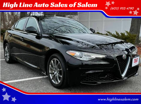 2018 Alfa Romeo Giulia for sale at High Line Auto Sales of Salem in Salem NH