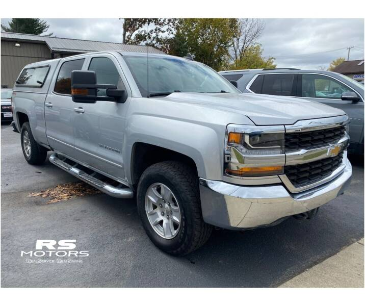 2016 Chevrolet Silverado 1500 for sale at RS Motors in Falconer NY