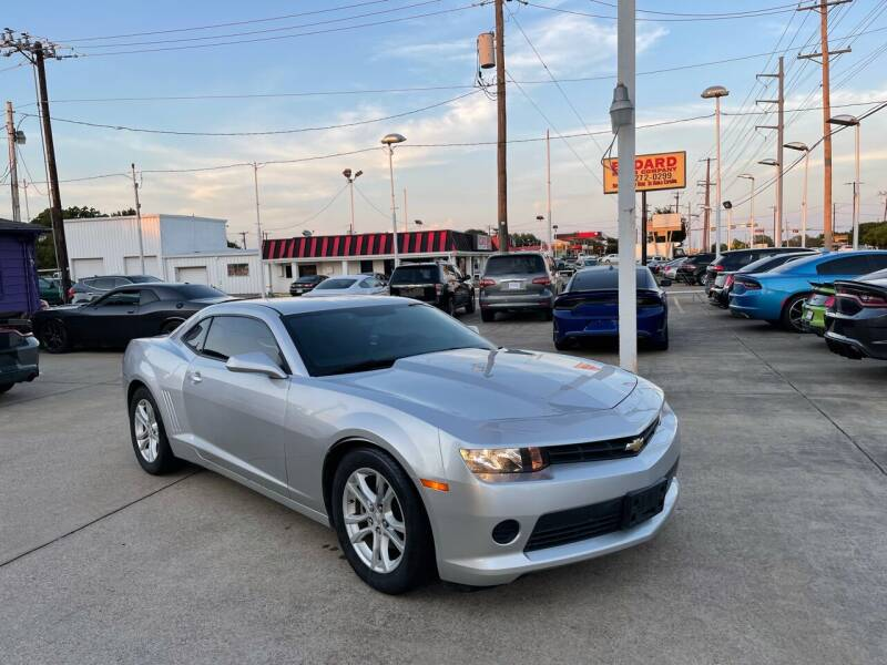 2014 Chevrolet Camaro for sale at Quality Auto Sales LLC in Garland TX