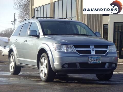 2009 Dodge Journey for sale at RAVMOTORS 2 in Crystal MN