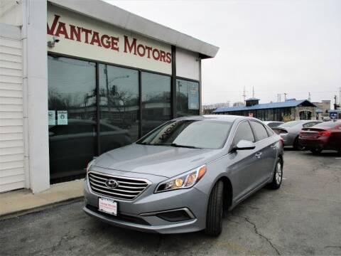 2017 Hyundai Sonata for sale at Vantage Motors LLC in Raytown MO