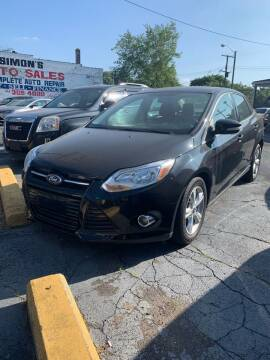 2012 Ford Focus for sale at Simon's Auto Sales in Detroit MI