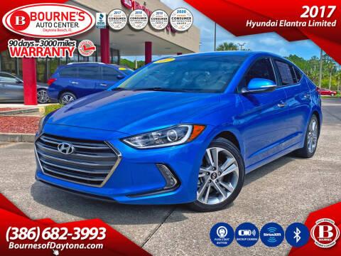 2017 Hyundai Elantra for sale at Bourne's Auto Center in Daytona Beach FL