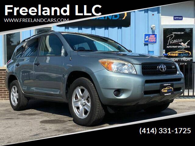2006 Toyota RAV4 for sale at Freeland LLC in Waukesha WI