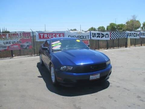 2012 Ford Mustang for sale at Quick Auto Sales in Modesto CA