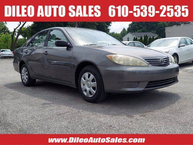 2005 Toyota Camry for sale at Dileo Auto Sales in Norristown PA