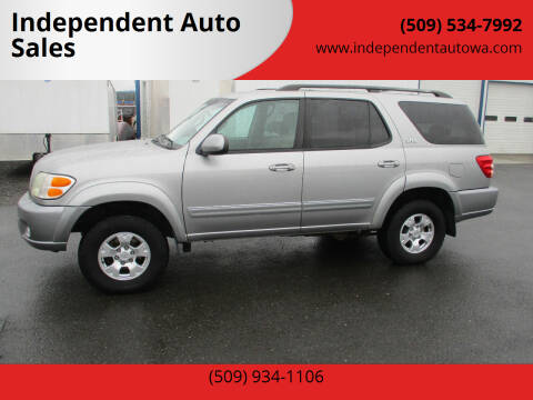 2004 Toyota Sequoia for sale at Independent Auto Sales #2 in Spokane WA