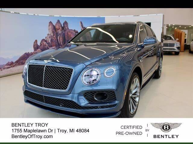 2020 Bentley Bentayga for sale in Troy, MI