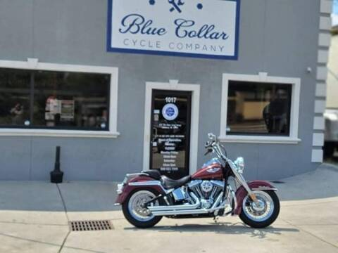 2008 Harley-Davidson Softail Deluce for sale at Blue Collar Cycle Company in Salisbury NC