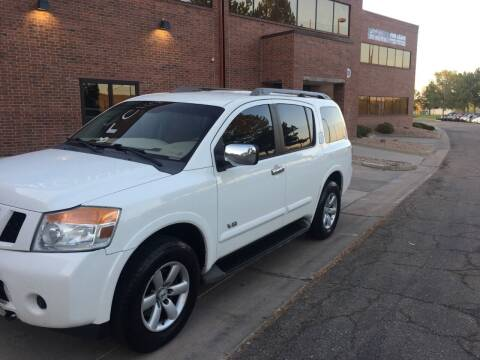 2009 Nissan Armada for sale at STATEWIDE AUTOMOTIVE LLC in Englewood CO