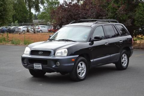 2004 Hyundai Santa Fe for sale at Skyline Motors Auto Sales in Tacoma WA