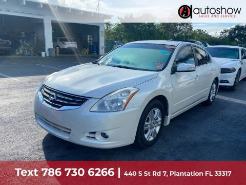2011 Nissan Altima for sale at AUTOSHOW SALES & SERVICE in Plantation FL