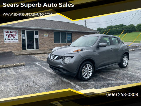 2015 Nissan JUKE for sale at Sears Superb Auto Sales in Corbin KY