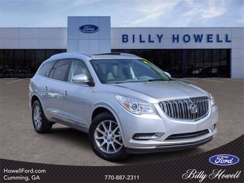 2017 Buick Enclave for sale at BILLY HOWELL FORD LINCOLN in Cumming GA