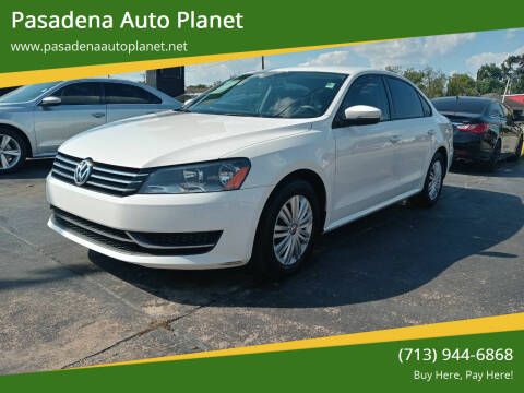 2014 Volkswagen Passat for sale at Pasadena Auto Planet in Houston TX