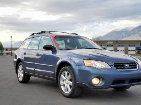 2006 Subaru Outback for sale at FRESH TREAD AUTO LLC in Springville UT
