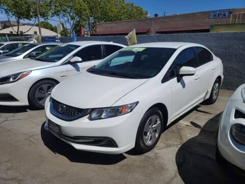 2015 Honda Civic for sale at Imports Auto Sales & Service in San Leandro CA