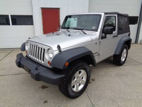 2012 Jeep Wrangler for sale at Lewin Yount Auto Sales in Winchester VA