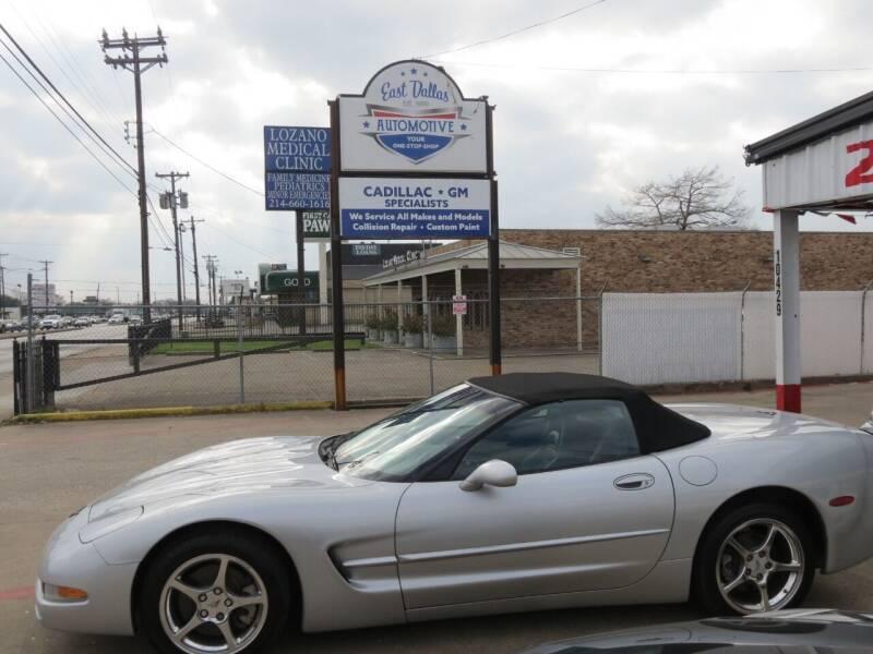 2000 Chevrolet Corvette for sale at East Dallas Automotive in Dallas TX