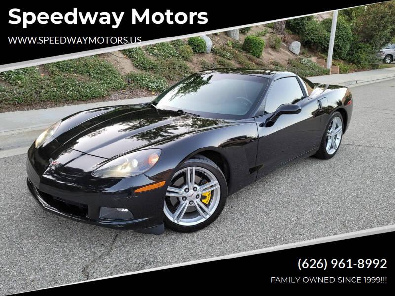 2010 Chevrolet Corvette for sale at Speedway Motors in Glendora CA
