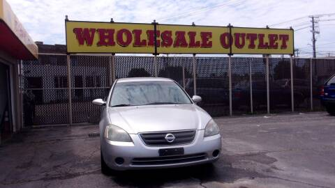 2002 Nissan Altima for sale at LONG BROTHERS CAR COMPANY in Cleveland OH