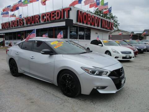 2017 Nissan Maxima for sale at Giant Auto Mart 2 in Houston TX