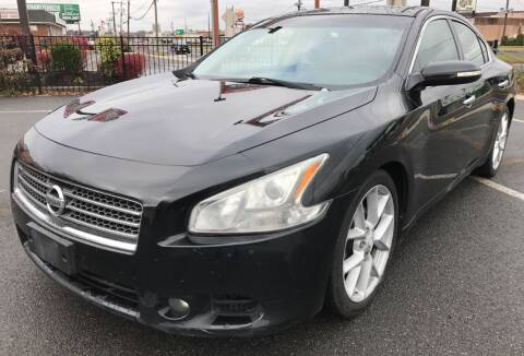 2009 Nissan Maxima for sale at MAGIC AUTO SALES in Little Ferry NJ