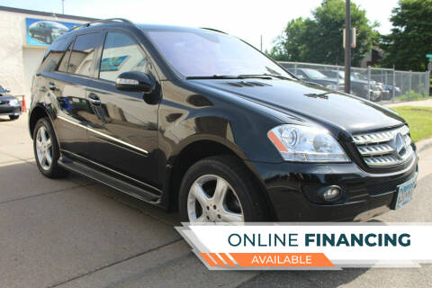 2008 Mercedes-Benz M-Class for sale at K & L Auto Sales in Saint Paul MN