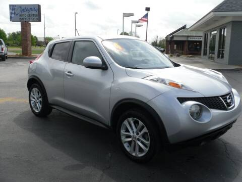 2014 Nissan JUKE for sale at Integrity Auto Center in Paola KS